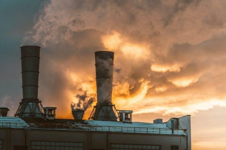 fumée de centrale